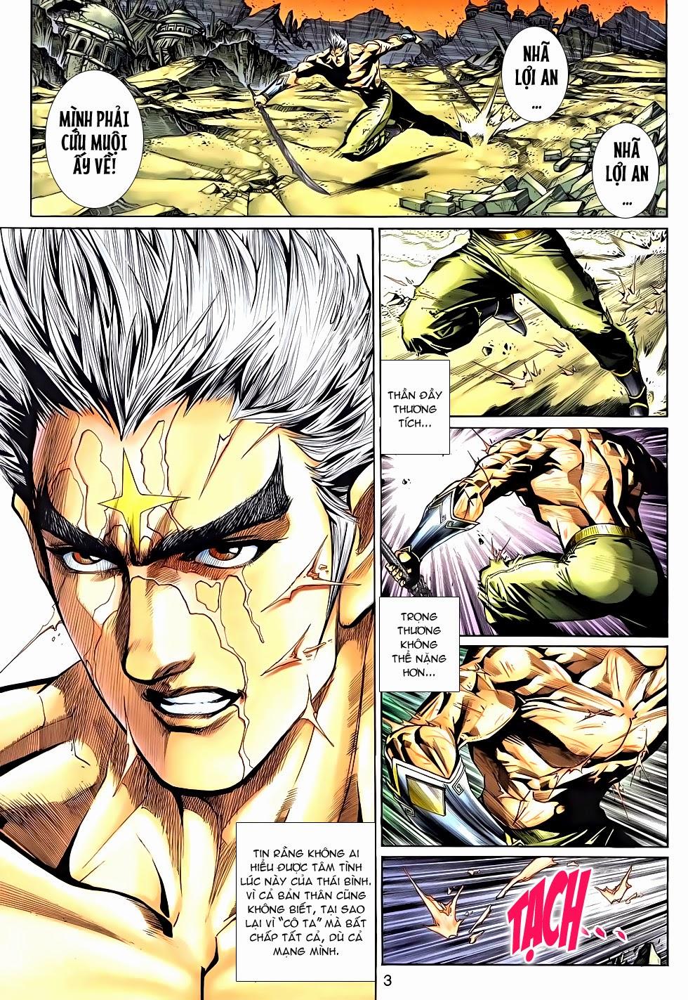 Thần Binh Tiền Truyện 2 chap 21 Trang 3 - Mangak.info