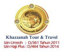 Promo Biaya Paket Umroh dan Haji Plus Travel Umroh Haji Plus Khazzanah Jakarta
