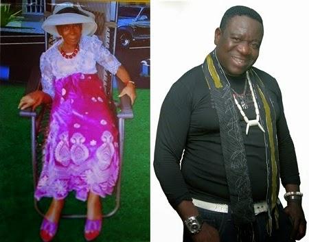 John Okafor mom burial