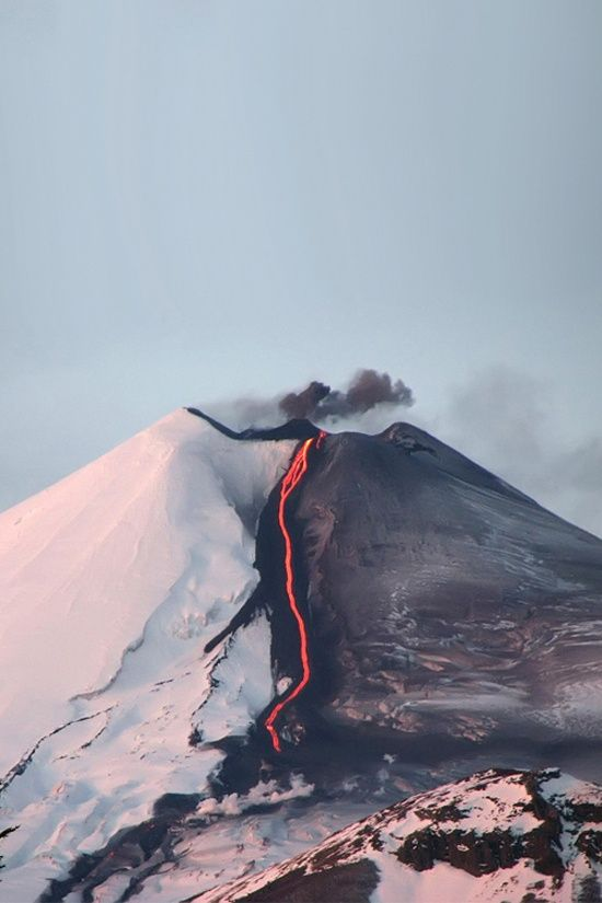 Gorgeous Volcano in Chile