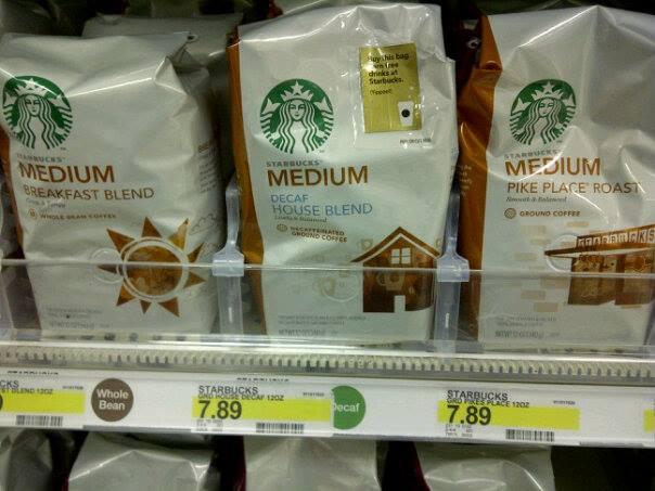 Starbucks deals in store