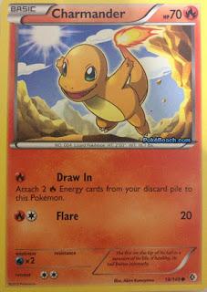 Charmander Boundaries Crossed Pokemon Card