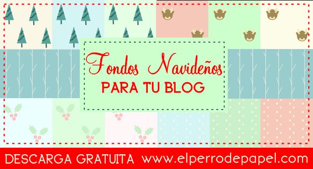 Fondos de Navidad para tu Blog Gratis