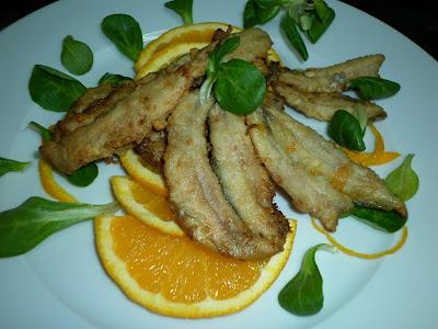 La cocina de puri pastor boquerones a la naranja - Cocina canal sur ...