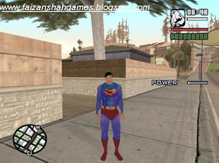 Gta san andreas superman mod install