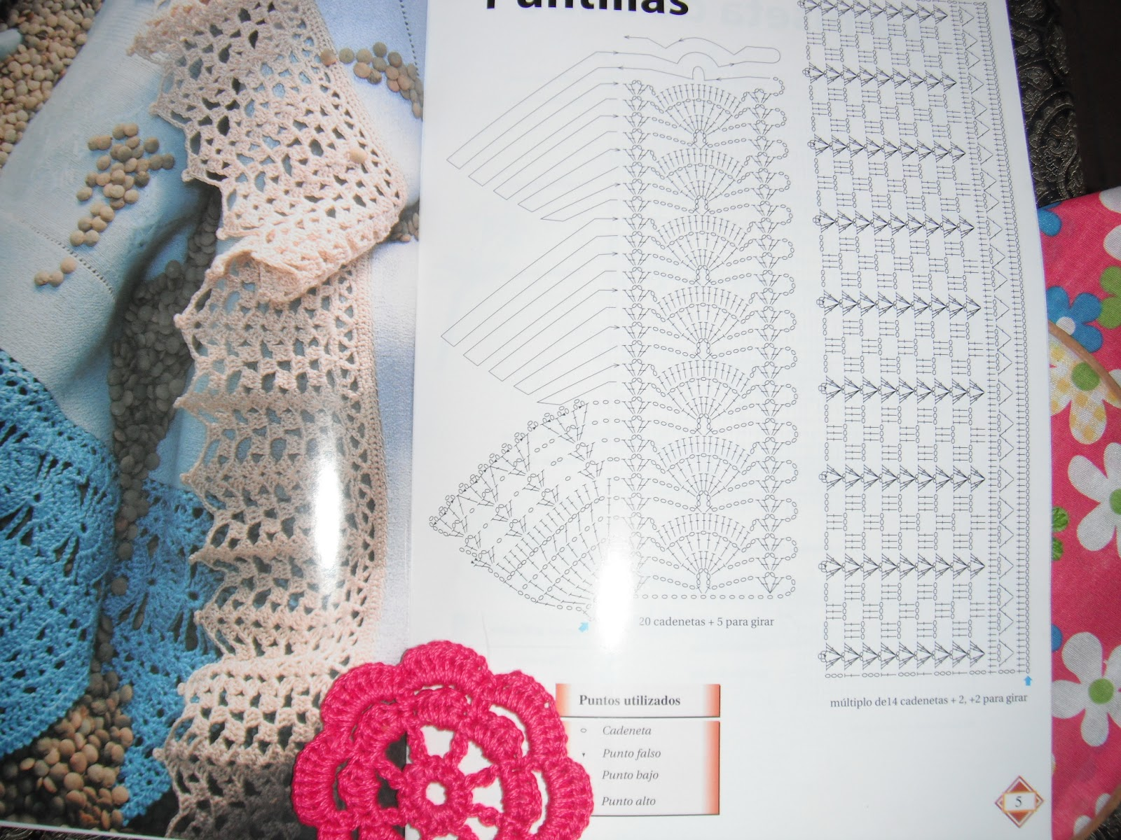 SERVILLETAS BORDADAS Y ORILLAS CON GANCHILLO CROCHET, PROYECTOS