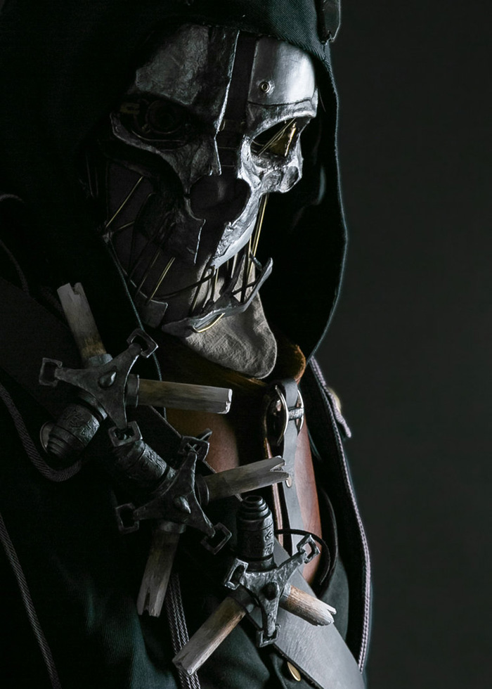 Cosplay del personaje de Dishonored