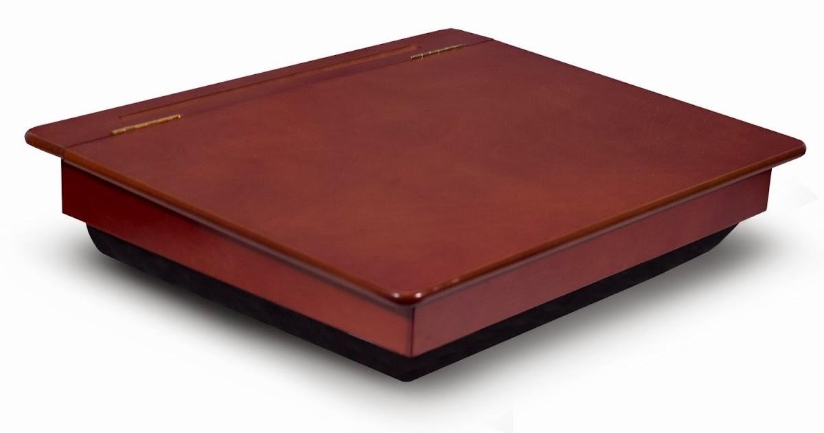 Lap desks for laptops lap desks with storage - Wood lap desk with storage ...