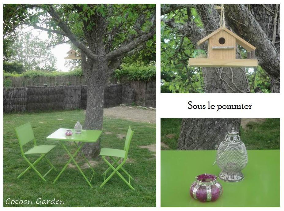 Cocoon garden petit salon de jardin - Petit salon de jardin ...