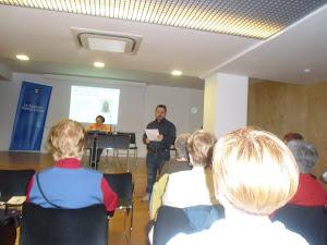 Recital de poesía en Biblioteca Sagrera- Marina Clotet