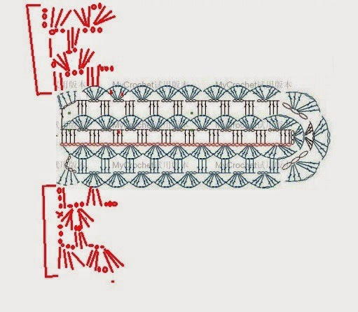 Безрукавка японочка крючком Капюшон Схема Описание