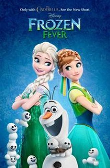 Frozen Fever (2015) 720p BRRip Español Latino