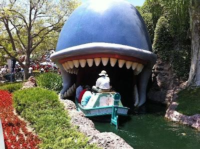 Monstro Whale Disneyland Storybookland