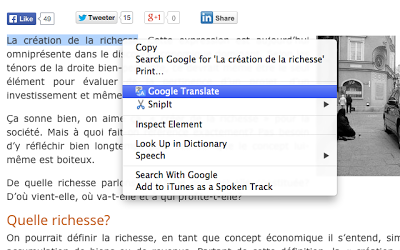 Google Chrome Blog: Translate web pages more easily with the new