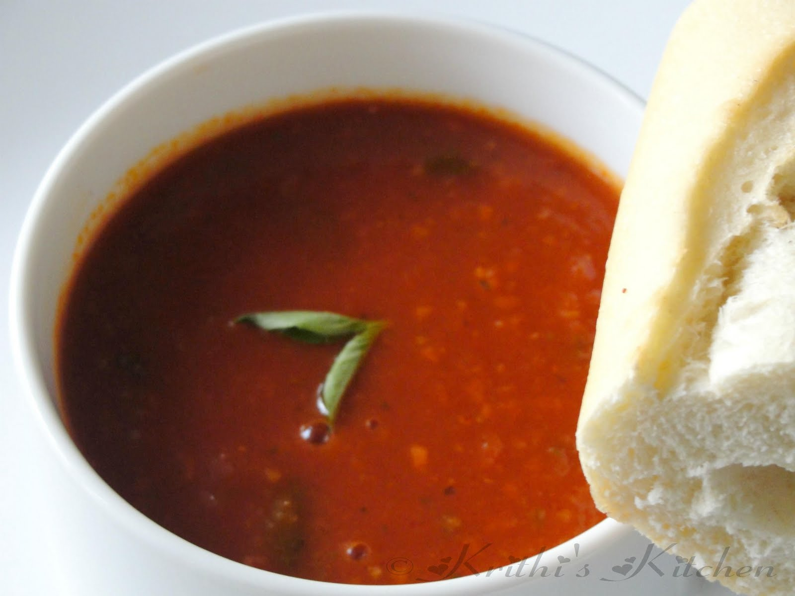 krithi u0027s kitchen tomato basil soup soup recipes