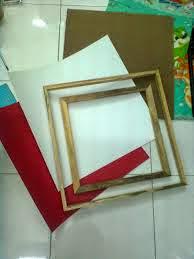 cắt khung tranh sơn dầu