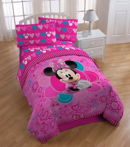 bedroom decor ideas and designs: top ten minnie mouse themed