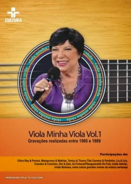 DVD Viola Minha Viola Vol. 1 (1980 a 1989)
