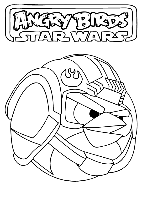 Anakin Skywalker Coloring Pages