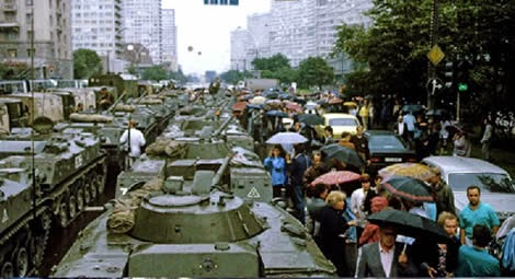 Coup to remove Gorbachev from power (2)