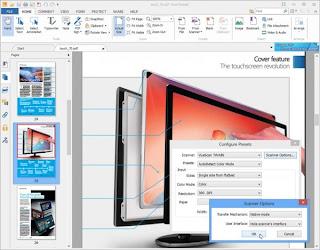 Foxir reader PDF presentation screen Shot