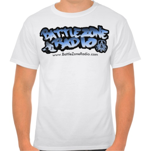 Get your Exclusive BattleZoneRadio Tee