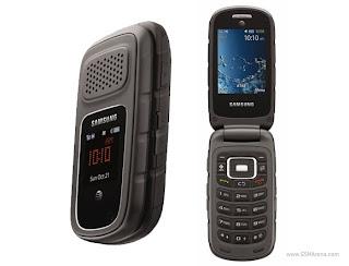 Samsung Rugby Iii Ponsel Tahan Air, Abu Dan Guncangan