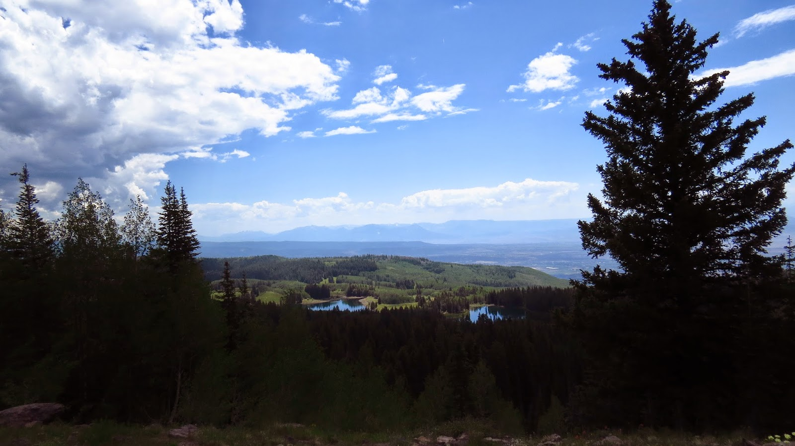 A view from Grand Mesa, Colorado