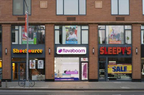 Flavaboom shopfront