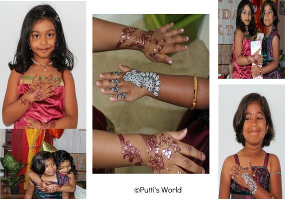 Henna theme party