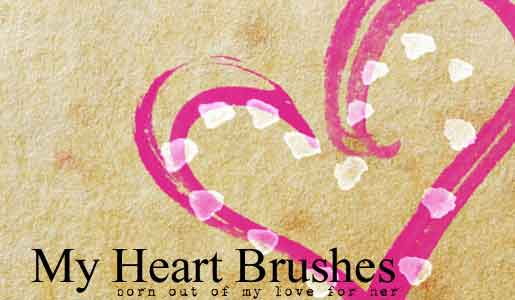 heart-brush