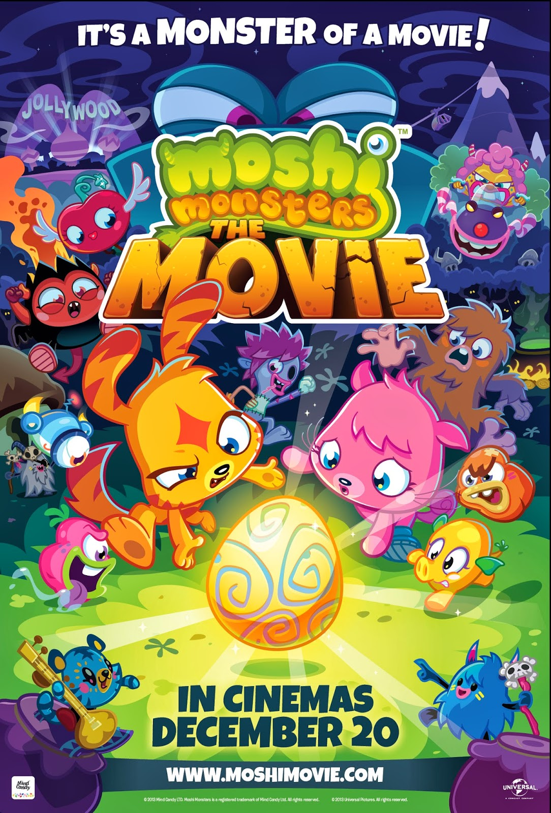 Moshi Monsters The Movie 2013