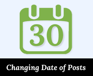 How to Change The Date of Your Published Posts in Blogger ~ My ...