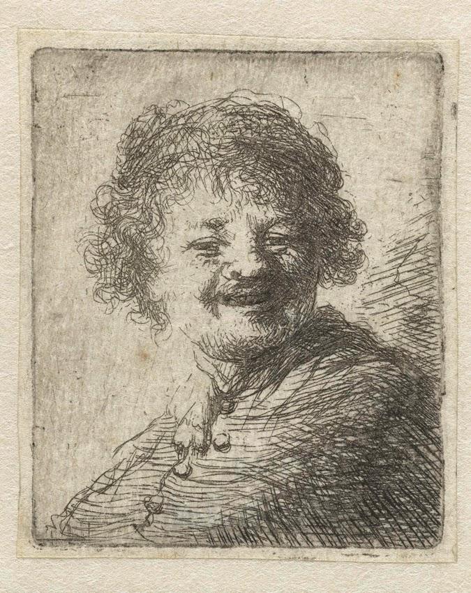rembrandt autoportrait louvre