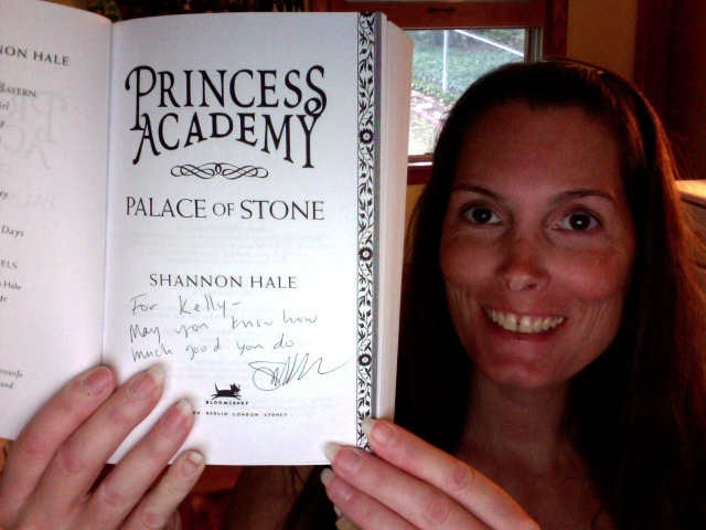 <b>Shannon Hale</b> is one of my favorite authors. She gave me a signed ARC of <b>...</b> - Photo%2B71