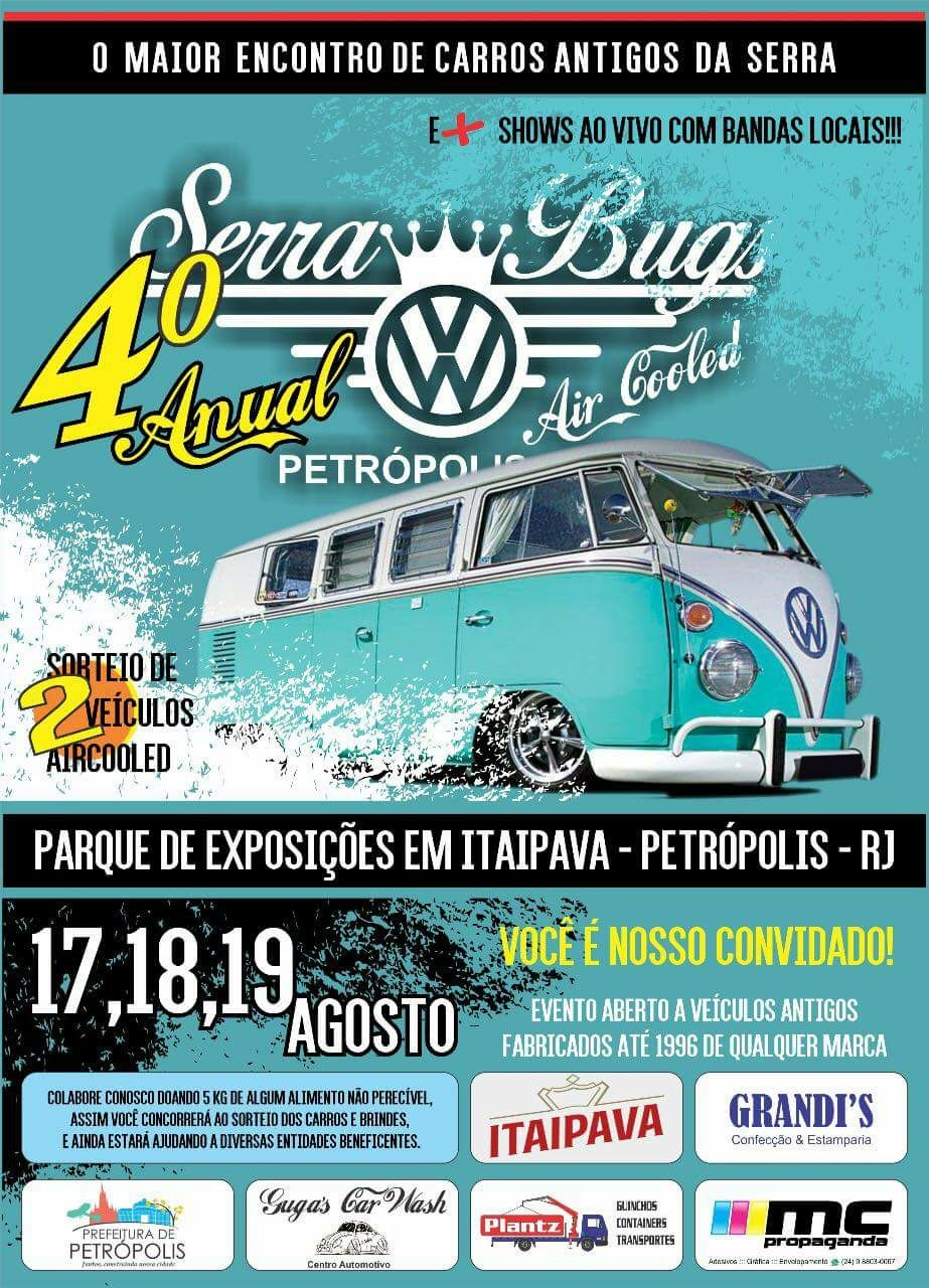 4 Anual Serra Bugs Air Cooled Petrópolis