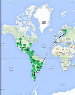 Die Panamericana als Selbstfahrer - mit dem 4x4 unterwegs