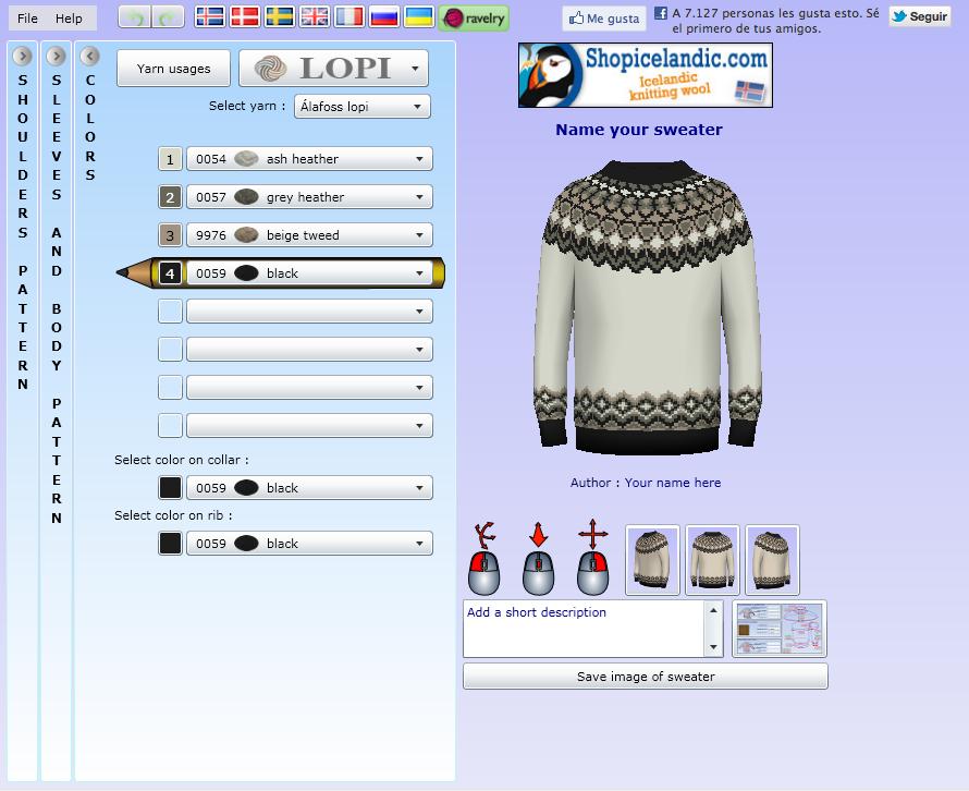 36c3ad9dc7658 Duduá  Software online para diseñar patrones de jersey