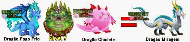 Cruzamentos para fazer o Dragão Miragem