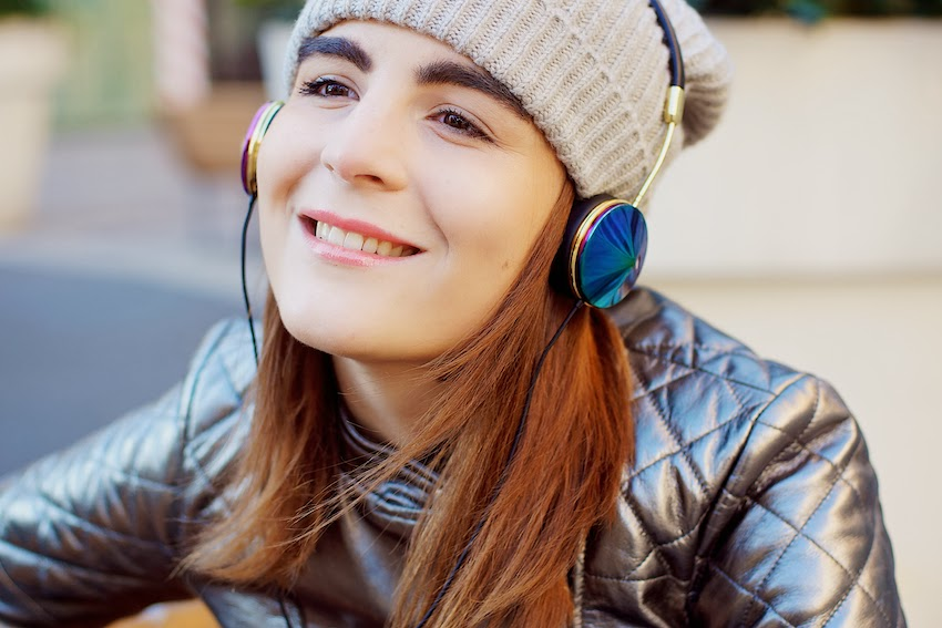 irene buffa for frends headphones collaboration