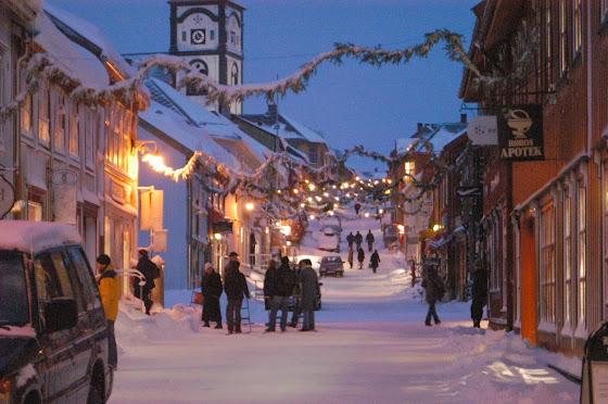 Julemarkedet på Røros er et av de mest kjente i Norge