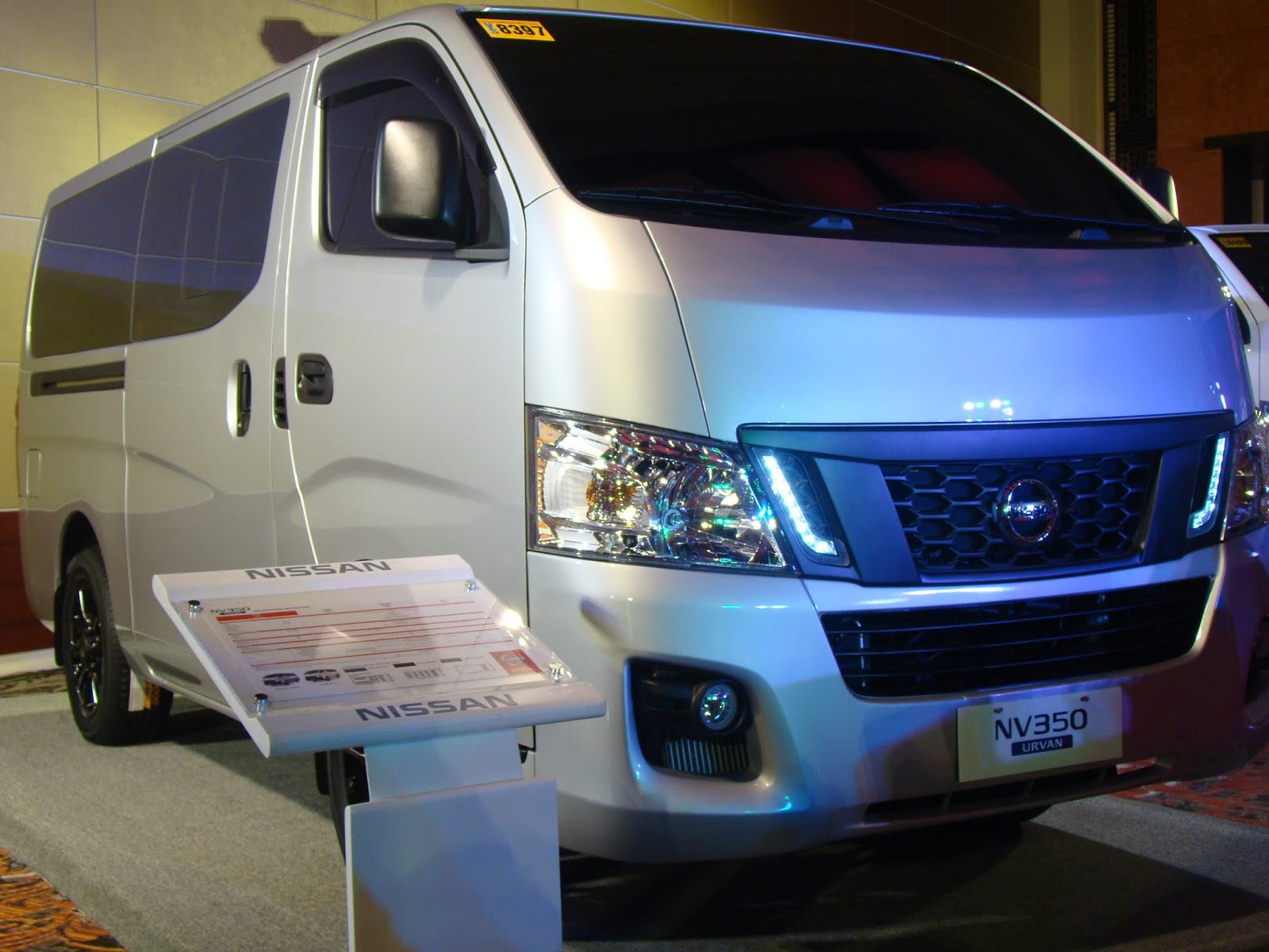 Luckyfinds: Nissan Philippines unveils NV350, its fully ...