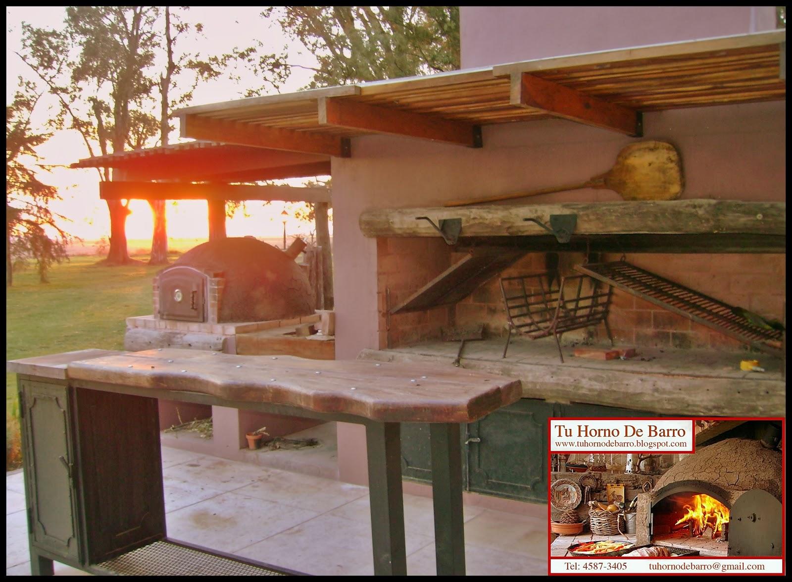 Tu horno de barro hornos de barro argentina buenos aires zona norte sur oeste hornos de - Hornos de barro ...