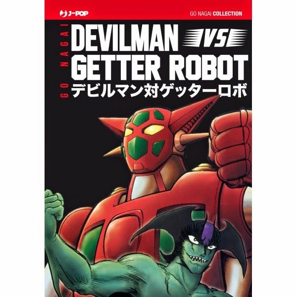 DEVILMAN VS GETTA ROBOT, RECENSIONE DEL MANGA DI GO NAGAI EDITO DA J-POP
