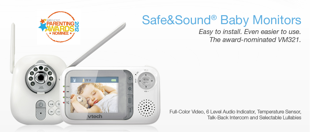 mail4rosey vtech m321 baby monitor review giveaway. Black Bedroom Furniture Sets. Home Design Ideas