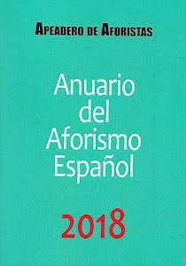 ANUARIO DEL AFORISMO ESPAÑOL 2018