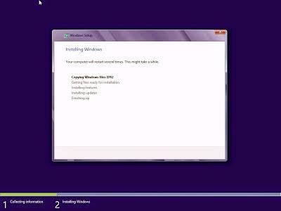 Tutorial Lengkap Cara Install Windows 8 Beserta Gambar