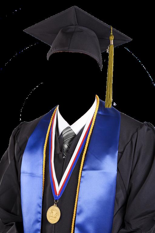 Toga - Plantillas psd graduacion diplomas grupales marcos toga birrete