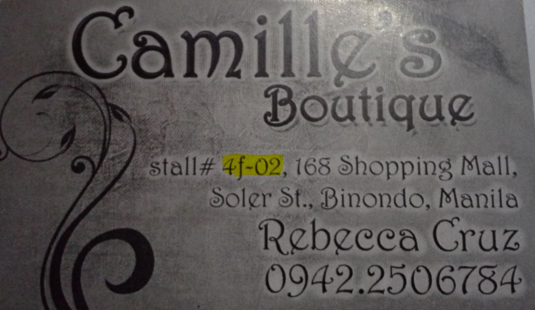 Camille\'s Boutique 168 Mall, Divisoria: Horrible Wedding Dress ...