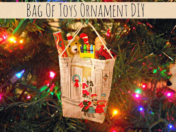 Bag Of Toys Ornament DIY